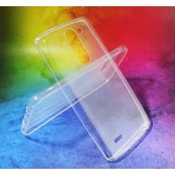 LG G3 S - Gumiran ovitek (TPUA) - prosojen
