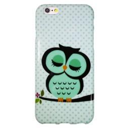 Apple iPhone 6/6S - Gumiran ovitek (TPUP) - Owl