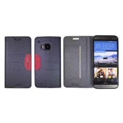 HTC One M9 - Preklopna torbica (47G) - črna