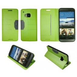 HTC One M9 - Preklopna torbica (47G) - zelena