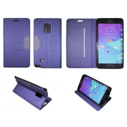 Samsung Galaxy Note Edge - Preklopna torbica (47G) - modra