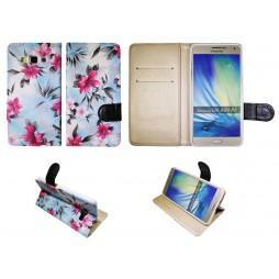 Samsung Galaxy A7 - Preklopna torbica (64) - modra