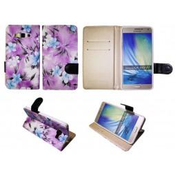 Samsung Galaxy A7 - Preklopna torbica (64) - vijolična