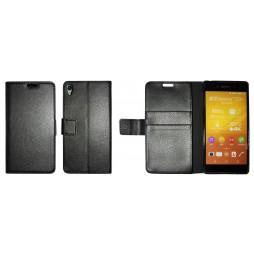 Sony Xperia Z3+ - Preklopna torbica (WLG) - črna