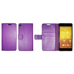 Sony Xperia Z3+ - Preklopna torbica (WLG) - vijolična