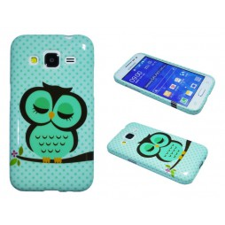 Samsung Galaxy Core Prime - Gumiran ovitek (TPUP) - Owl