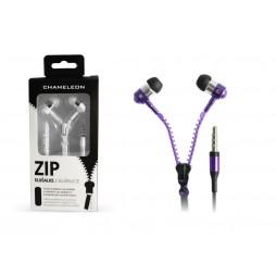 Chameleon 3.5 HI-FI stereo slušalke ZIP 2040 vijolične
