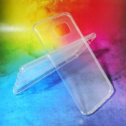 Samsung Galaxy S6 Edge - Gumiran ovitek (TPUA) - prosojen