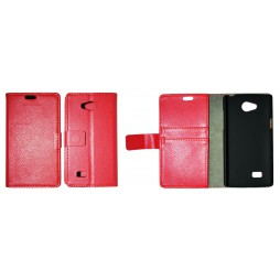 LG Joy - Preklopna torbica (WL) - rdeča