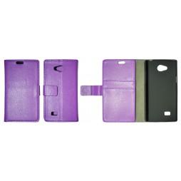 LG Joy - Preklopna torbica (WL) - vijolična