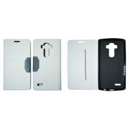 LG G4 - Preklopna torbica (47G) - bela