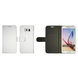 Samsung Galaxy S6 - Preklopna torbica (Book) - bela