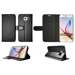 Samsung Galaxy S6 - Preklopna torbica (Book) - črna