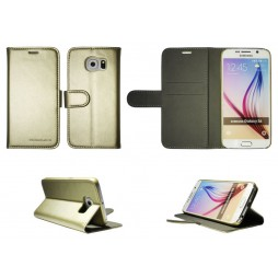 Samsung Galaxy S6 - Preklopna torbica (Book) - zlata