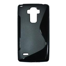 LG G4 Stylus - Gumiran ovitek (TPU) - črn SLine