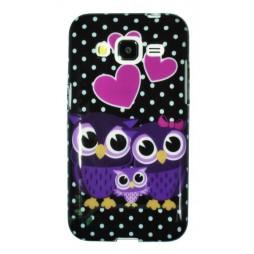 Samsung Galaxy Core Prime - Gumiran ovitek (TPUP) - Owls in love