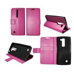 LG G4c/L Bello Plus/Magna - Preklopna torbica (WLG) - roza