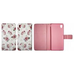 Sony Xperia M4 Aqua - Preklopna torbica (WLGP) - Flowers