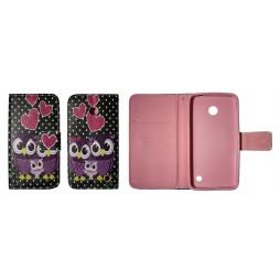 Nokia Lumia 630 - Preklopna torbica (WLGP) - Night owls
