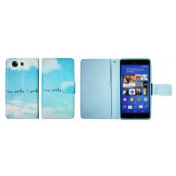Sony Xperia Z3 Compact/Mini - Preklopna torbica (WLGP) - Smile