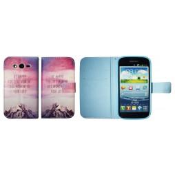 Samsung Galaxy Grand/Grand Neo - Preklopna torbica (WLGP) - Happy