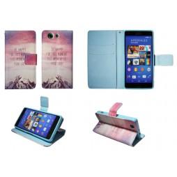 Sony Xperia Z3 Compact/Mini - Preklopna torbica (WLGP) - Happy