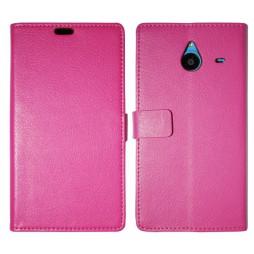 Microsoft Lumia 640 XL - Preklopna torbica (WL) - roza