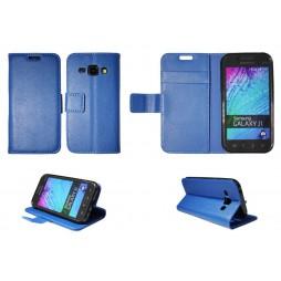 Samsung Galaxy J1 - Preklopna torbica (WLG) - modra