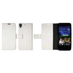 HTC Desire 626/628/650 - Preklopna torbica (WLG) - bela