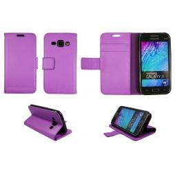 Samsung Galaxy J1 - Preklopna torbica (WLG) - vijolična