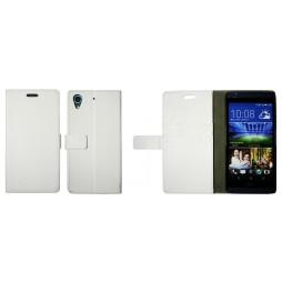 HTC Desire 626/628/650 - Preklopna torbica (WL) - bela