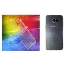 Samsung Galaxy S6 Edge Plus - Gumiran ovitek (TPUA) - prosojen