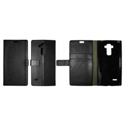 LG G4 Stylus - Preklopna torbica (WL) - črna
