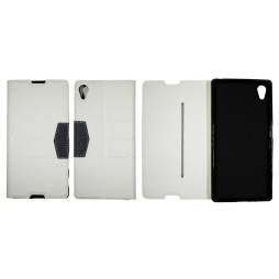 Sony Xperia Z5 - Preklopna torbica (47G) - bela