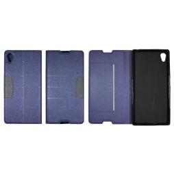 Sony Xperia Z5 - Preklopna torbica (47G) - modra