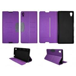 Sony Xperia Z5 - Preklopna torbica (47G) - vijolična