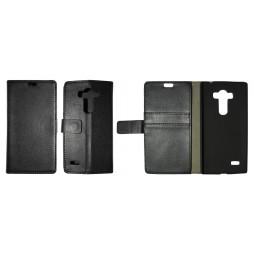 LG G4s Beat - Preklopna torbica (WL) - črna