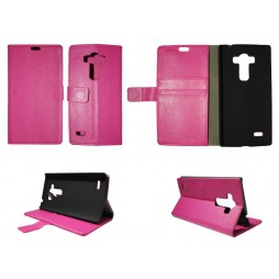 LG G4s Beat - Preklopna torbica (WL) - roza