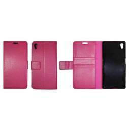Sony Xperia Z5 - Preklopna torbica (WLG) - roza