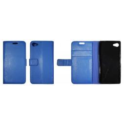 Sony Xperia Z5 Compact - Preklopna torbica (WLG) - modra