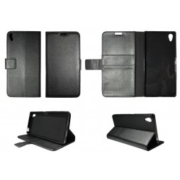 Sony Xperia Z5 Premium - Preklopna torbica (WLG) - črna
