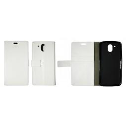 HTC Desire 526 - Preklopna torbica (WLG) - bela