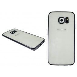 Samsung Galaxy S6 Edge Plus - Gumiran ovitek (TPUE) - rob črn