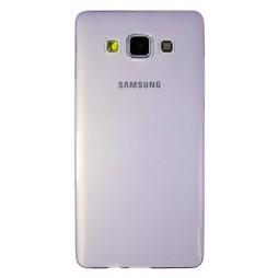 Samsung Galaxy A5 - Gumiran ovitek (TPUA) - vijolično-prosojen