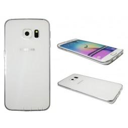 Samsung Galaxy S6 Edge - Gumiran ovitek (22) - prosojen