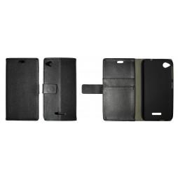 HTC Desire 320 - Preklopna torbica (WL) - črna