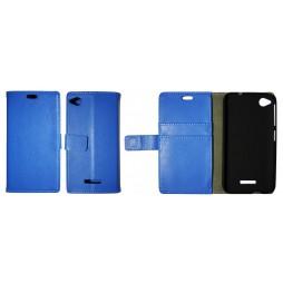 HTC Desire 320 - Preklopna torbica (WL) - modra