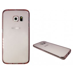Samsung Galaxy S6 Edge - Gumiran ovitek (TPUD) - rob roza