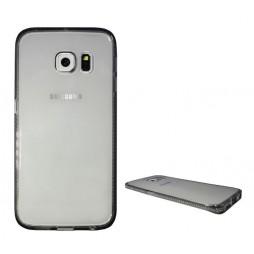 Samsung Galaxy S6 Edge - Gumiran ovitek (TPUD) - rob siv