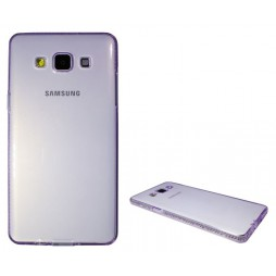 Samsung Galaxy A5 - Gumiran ovitek (TPUD) - vijoličen